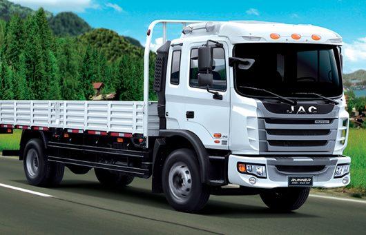 Runner JAC 1134: Un gran camión para los caminos de Talca